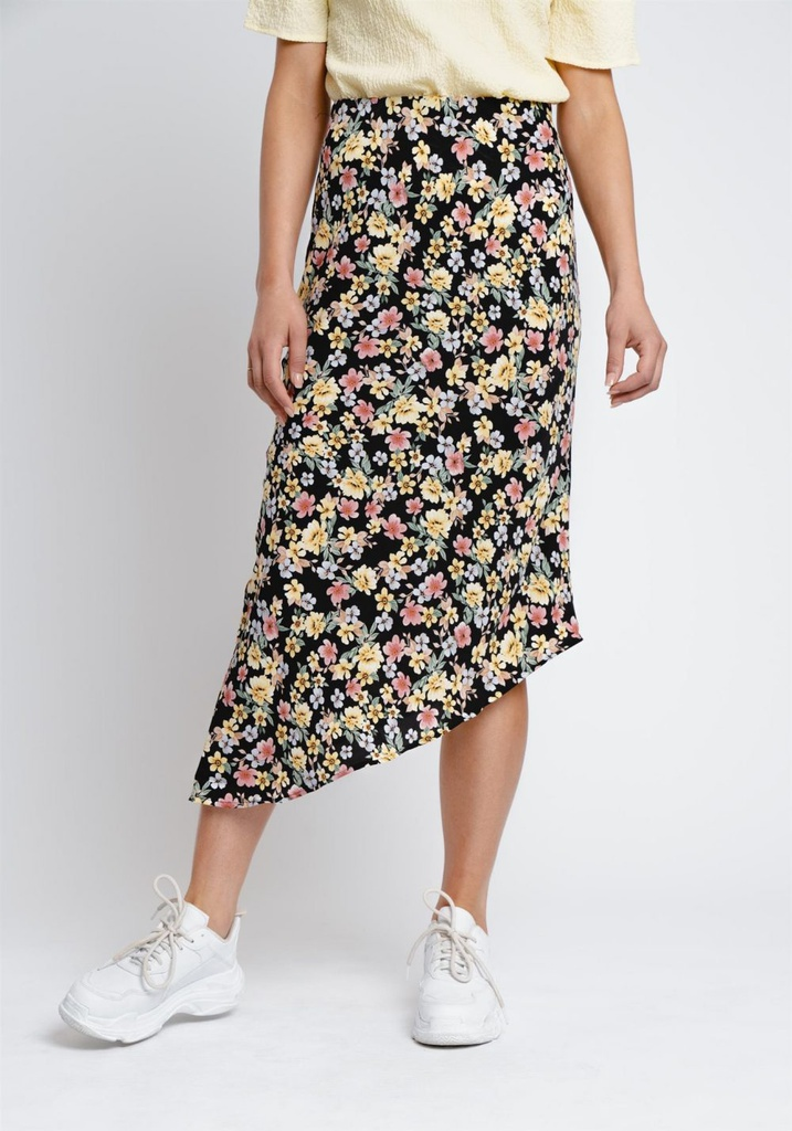 Rut & Circle Maxi Rok In Bloemenprint