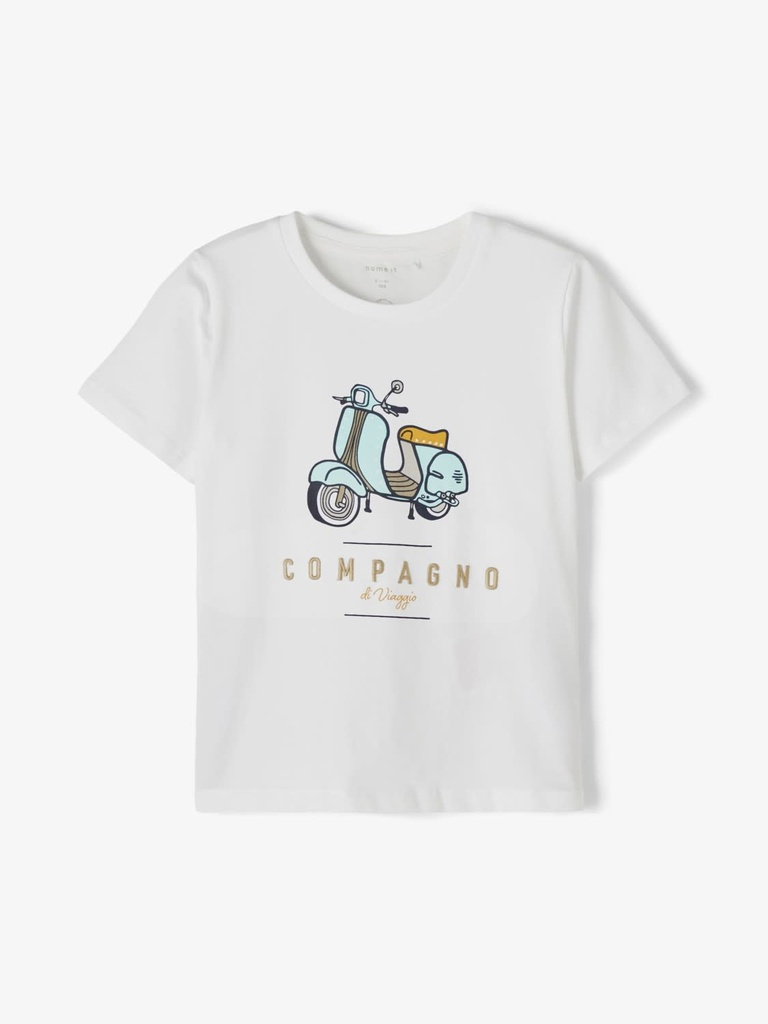 Name It Tshirt Vespa White